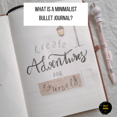 What Is A Minimalist Bullet Journal?