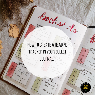 How to Create a Reading Tracker in your Bullet Journal.