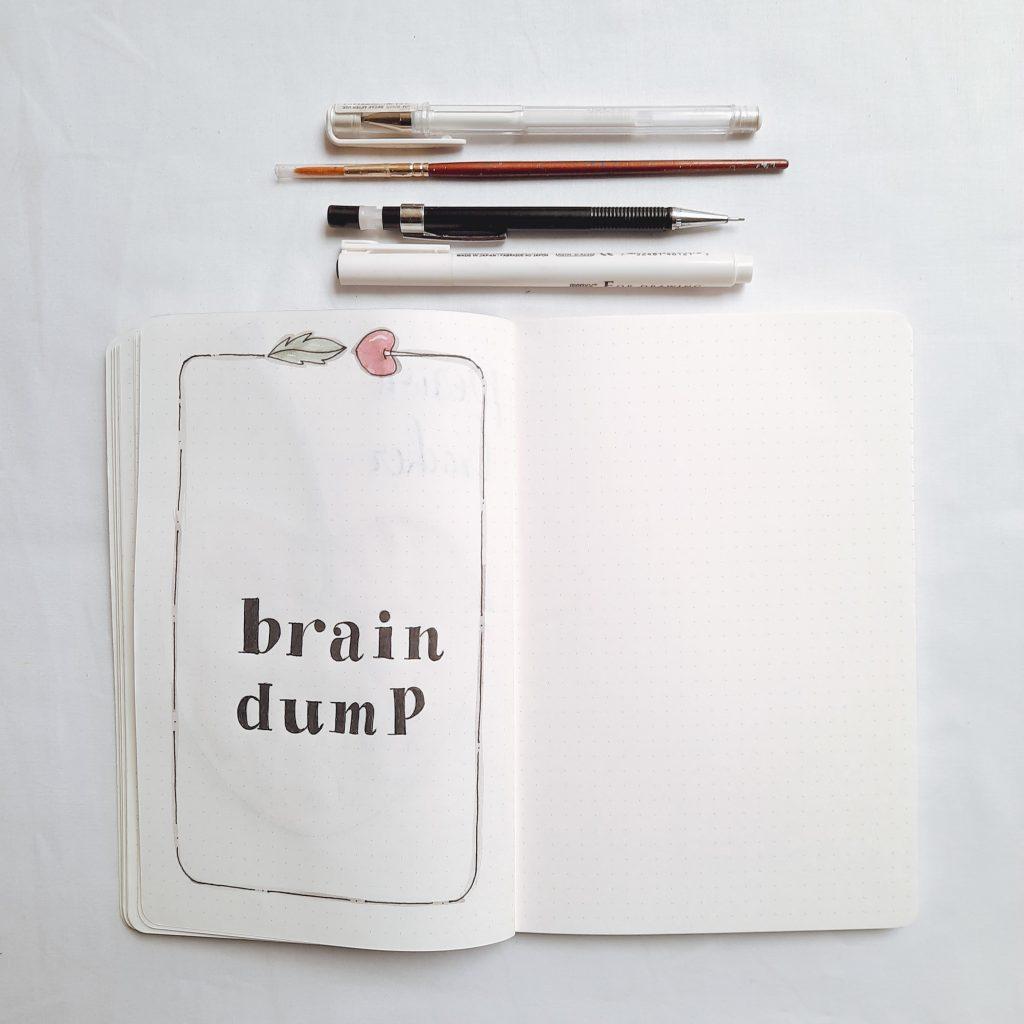brain-dump-bullet-journal-india