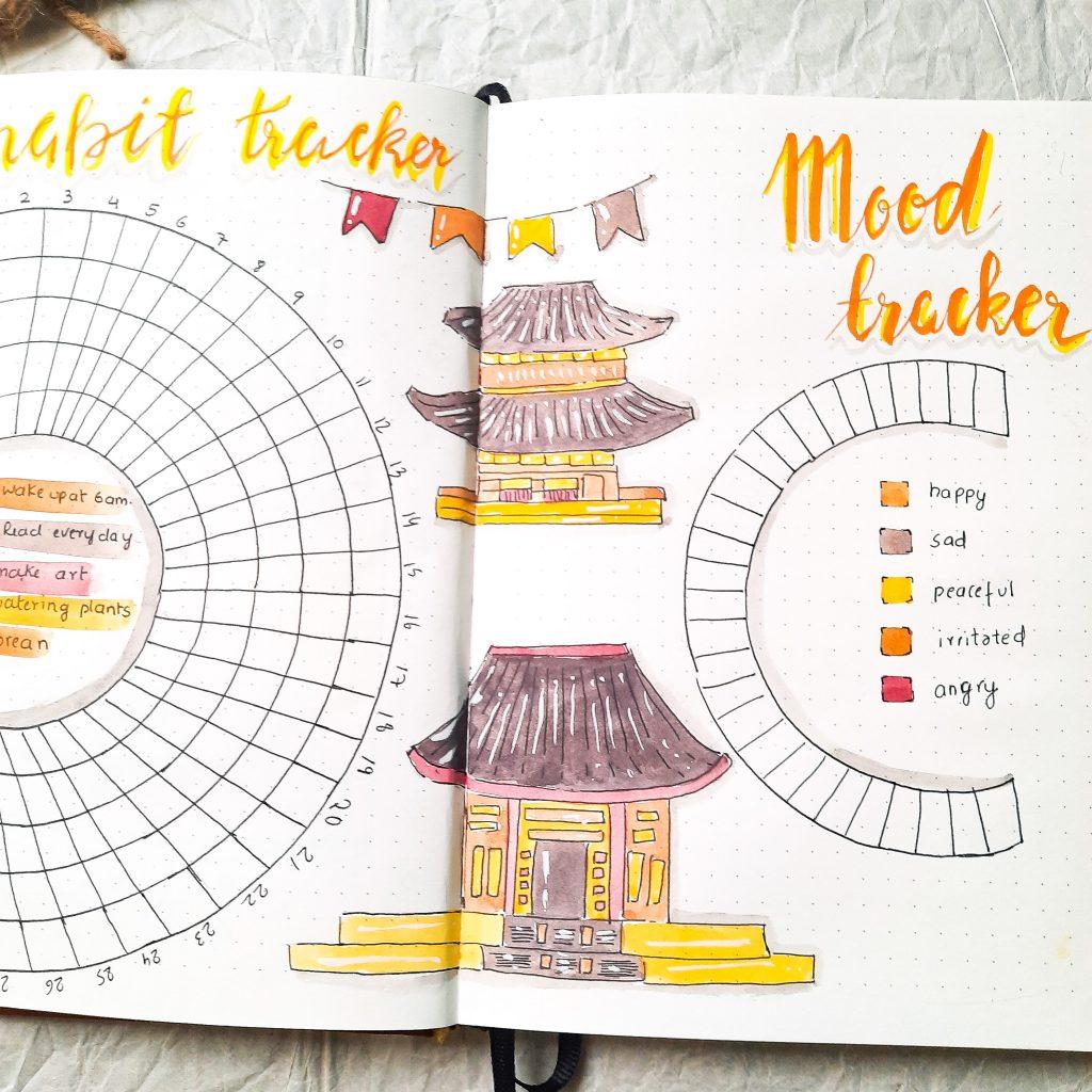 minimalist-mood-tracker-bullet-journal-india