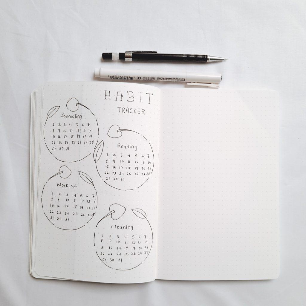 habit-tracker-2021-bullet-journal-india