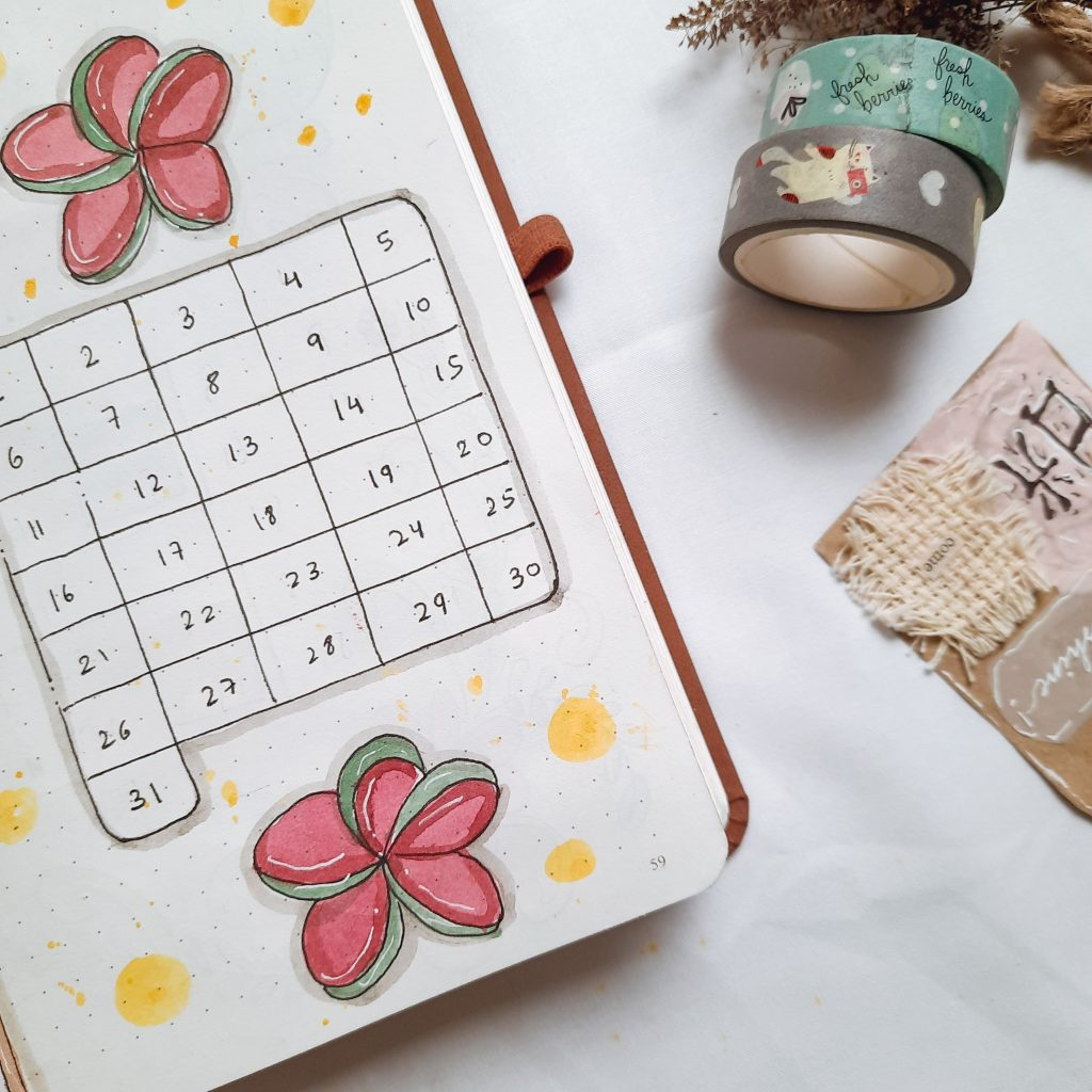 period-tracker-bullet-journal-india